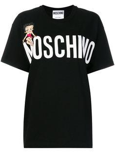 футболка Betty Boop Moschino