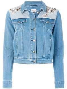 декорированная джинсовая куртка  Twin-Set
