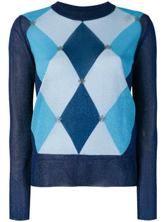 свитер вязки аргайл Twin-Set
