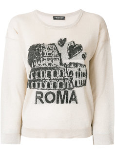 свитер с вышивкой Roma Twin-Set