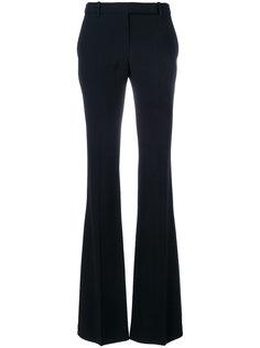 расклешенные классические брюки  Alexander McQueen