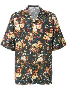 рубашка с короткими рукавами с цветочным принтом McQ Alexander McQueen
