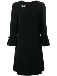 платье с присборенными рукавами Boutique Moschino