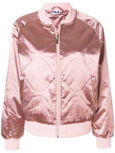 стеганая куртка-бомбер Fila