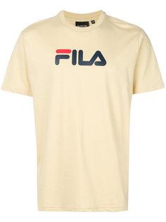 футболка с принтом-логотипом Fila