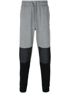 спортивные брюки колор-блок Fila