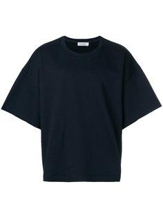 футболка свободного кроя с короткими рукавами Jil Sander