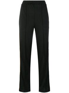 брюки с полосками по бокам Ganni