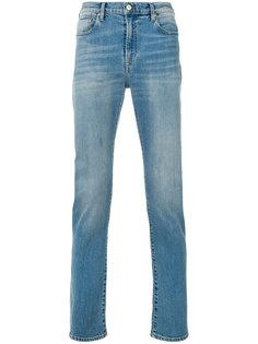 джинсы прямого кроя с потертой отделкой  Ps By Paul Smith