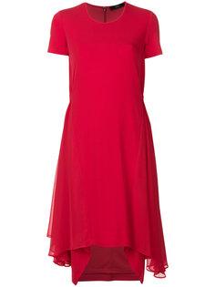 расклешенное трикотажное платье Steffen Schraut