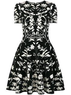 расклешенное платье  Alexander McQueen