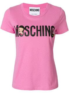 футболка с короткими рукавами Moschino