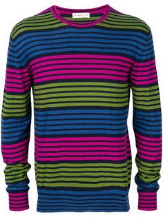 трикотажный свитер в полоску Etro