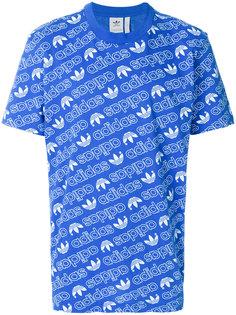 футболка с монограммным принтом Adidas Originals Adidas Originals