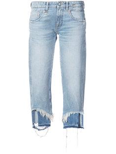 джинсы с рваной кромкой Boy R13