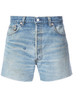шорты Crossover с бахромой R13