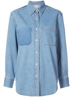 джинсовая рубашка с карманом  Stella McCartney