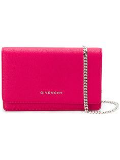 маленький клатч Pandora с цепочной лямкой Givenchy