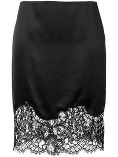 юбка с кружевной панелью Givenchy