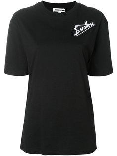 футболка с вышивкой McQ Alexander McQueen