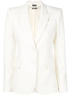 классический приталенный пиджак Alexander McQueen