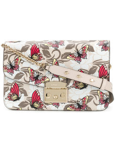 сумка Metropolis  с принтом бабочек Furla