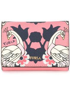 бумажник с принтом птиц Furla