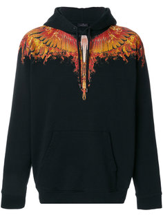 толстовка с капюшоном Flame Wings Marcelo Burlon County Of Milan