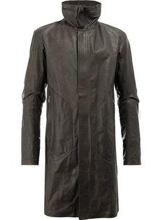 пальто с высоким воротом Isaac Sellam Experience