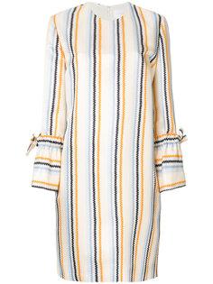 """платье-шифт с рисунком """"зигзаг"""" Victoria Victoria Beckham"""