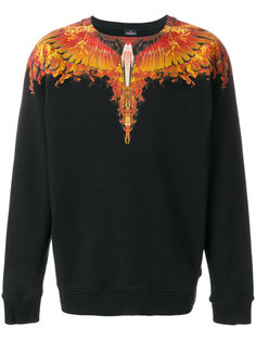 толстовка Flame Wings Marcelo Burlon County Of Milan