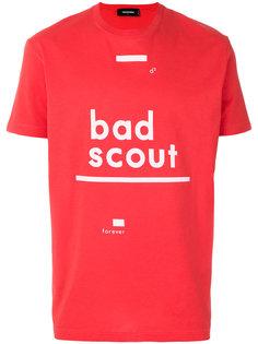 футболка с принтом Bad Scout Dsquared2