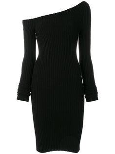 платье на одно плечо Helmut Lang