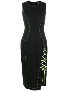 платье с неоновым шнурком Versus
