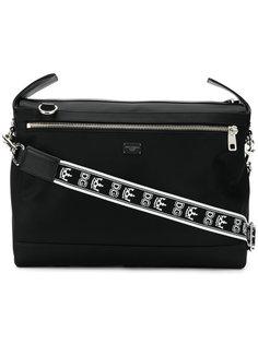 сумка-мессенджер с логотипом на лямке Dolce & Gabbana