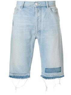 джинсовые шорты до колена Marcelo Burlon County Of Milan