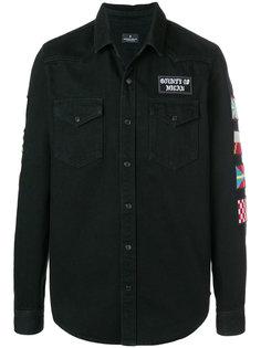 джинсовая куртка  Marcelo Burlon County Of Milan