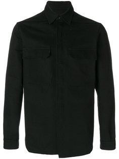 рубашка с накладными карманами Rick Owens