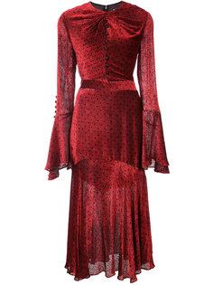 """платье с вырезом """"замочная скважина """" Prabal Gurung"""