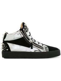 кроссовки Kriss с заклепками Giuseppe Zanotti Design