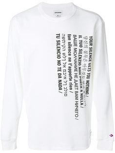 футболка с длинными рукавами Converse
