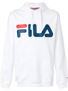 толстовка с принтом-логотипом  Fila