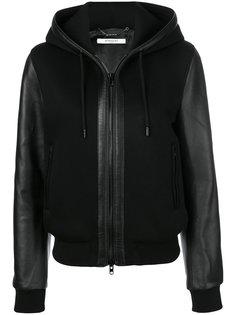 куртка на молнии с капюшоном Givenchy