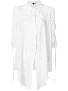 рубашка с присборенными деталями Ann Demeulemeester