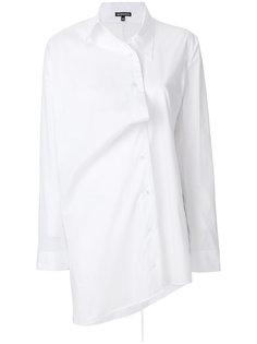 асимметричная рубашка на пуговицах Ann Demeulemeester