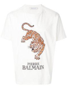 футболка с тигром Pierre Balmain