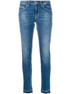 """джинсы """"скинни"""" с выцветшим эффектом Dondup"""