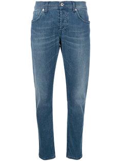 прямые джинсы с выцветшим эффектом Dondup