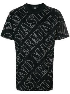 футболка с принтом-логотипом Mastermind Japan