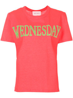 футболка Wednesday Fluo Alberta Ferretti